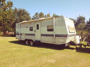 1999 wilderness 29ft slide out travel trailer for Sale in Santa Fe, TX