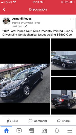 2012 Ford Taures for Sale in New Bedford, MA