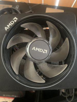 CPU fan (AMD wraith cpu fan rgb) for Sale in Cudahy, CA