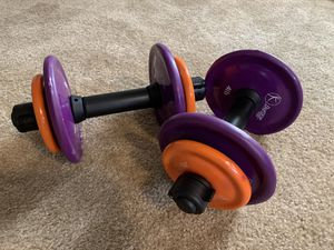 Couple of dumbbells for Sale in Vancouver, WA