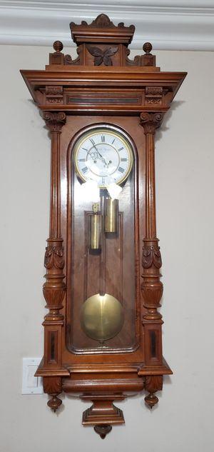 Gustav Becker Antique Vienna Regulator Clock 1890 for Sale in Anaheim, CA