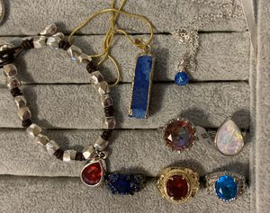 FOR KATHY. New 5 necklaces, 1 bracelet and 5 rings. for Sale in HOFFMAN EST, IL