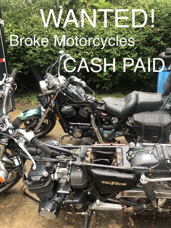 We carry off scrap or broke atvs bike and engines on the spot