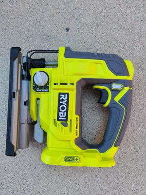 RYOBI 18-Volt ONE+ Cordless Brushless Jig Saw (Tool Only) for Sale in Murrieta, CA