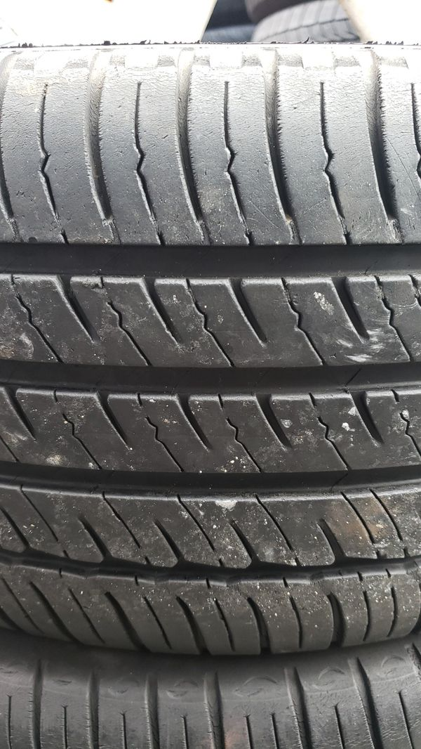 Used tires and rims