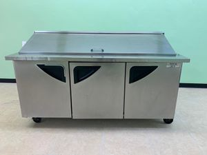 Turbo Air Refrigerator Prep Table. NSF Approved for Sale in West Covina, CA