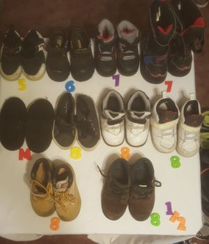 Toddler shoes and boots for Sale in Hedgesville, WV