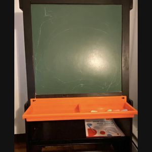 Children's Real Wood Dry Erase/ Chalk board for Sale in New York, NY