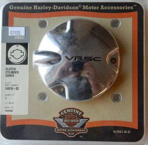 NEW 2002 AND NEWER HARLEY VRSC VROD CLUTCH CYLINDER COVER 34810-02 for Sale in Elmira, NY