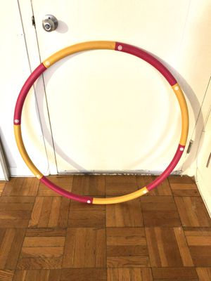 Hula hoop. Soft cushion. Breaks down easily for storage. Great for apartments. Snap together. for Sale in Washington, DC