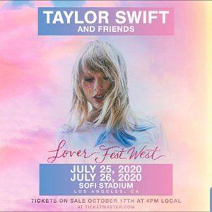 TAYLOR SWIFT LOS ANGELES 7/26 for Sale in Bellflower, CA