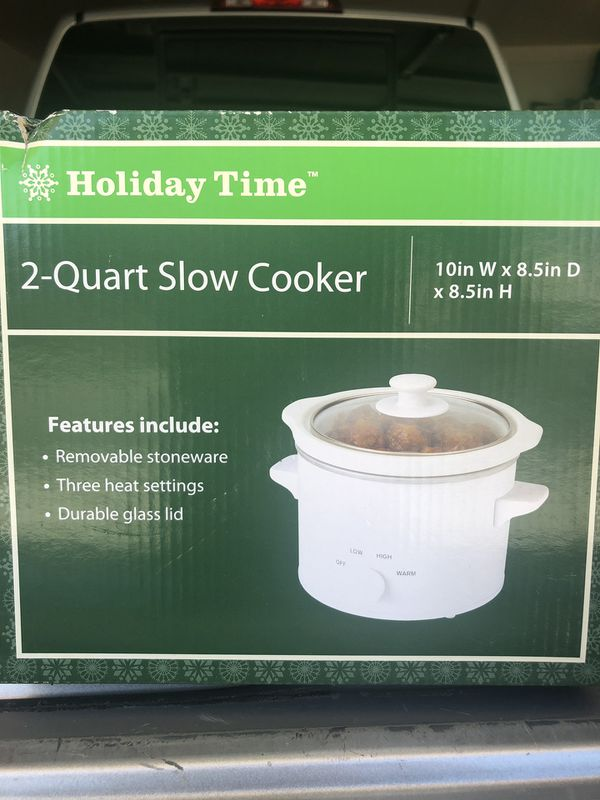 2 Quart Slow Cooker/Crock Pot