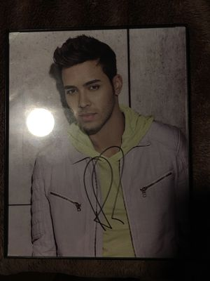 Prince Royce signature for Sale in FL, US