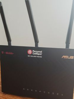 AC68U Router With Latest ASUS Firmware for Sale in Centreville,  VA