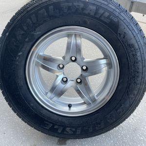 """Spare Aluminum Boat Trailer Wheel & Tire 14"""" for Sale in Wimauma, FL"""