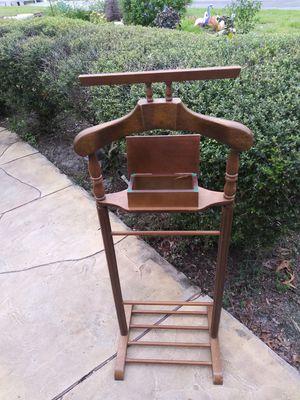 """Antique Butler Men's Wooden Suit Rack. 43"""" x 16"""" for Sale in Spring Hill, FL"""