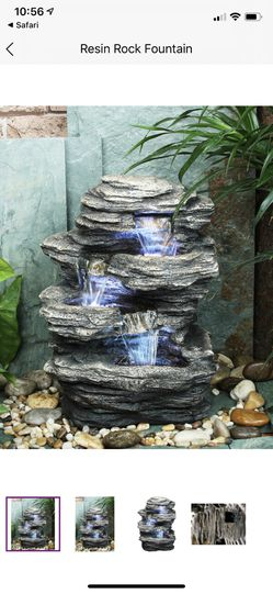 Rock Fountain - 4 levels with lights - Brand New for Sale in Boston,  MA