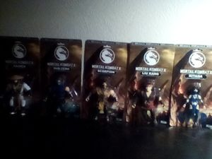 Mortal kombat action figures for Sale in Austin, TX