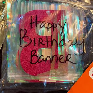 FREE 2 Birthday banners With Some Blow Horns for Sale in San Diego, CA