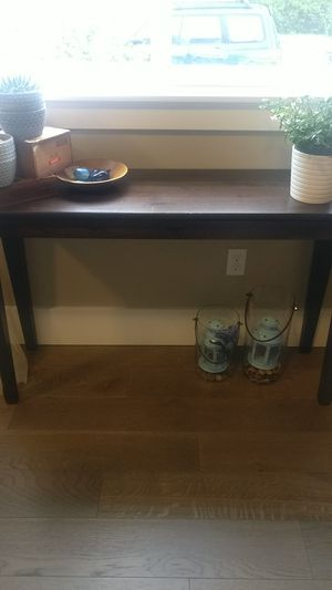 Solid wood sofa console table for Sale in Portland, OR