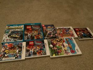 Super Nintendo bundle: 8 Nintendo games! (Wii U, 3ds, Wii, and Switch) (Used) for Sale in Apopka, FL