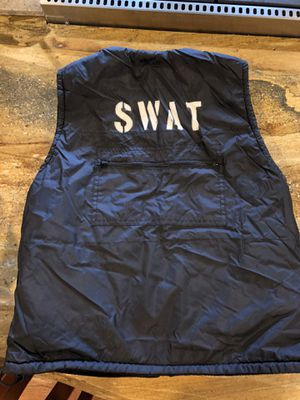 Homemade SWAT costume vest for Sale in Fullerton, CA