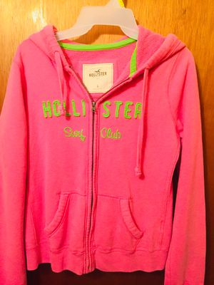 Hollister hoodie jacket for Sale in Hillsboro, MO