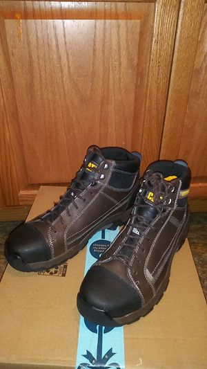 Brand New Caterpillar brand Steel Toe work boots for Sale in Philadelphia, PA