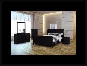 11pc black bedroom set for Sale in Ashburn, VA