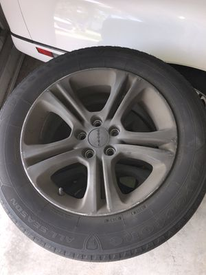 Set of 4 tires and rims for Sale in Boca Raton, FL