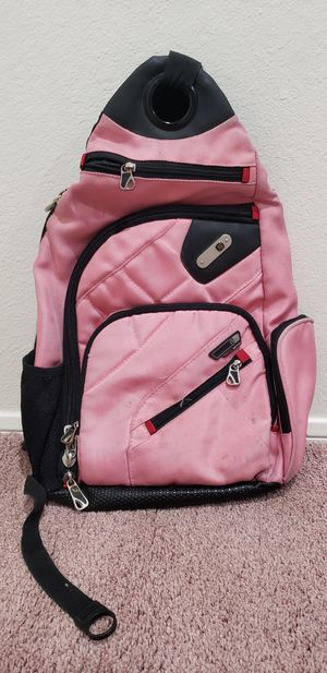 Pink Backpack Side Strap (Great Computer Bag) for Sale in Henderson, NV
