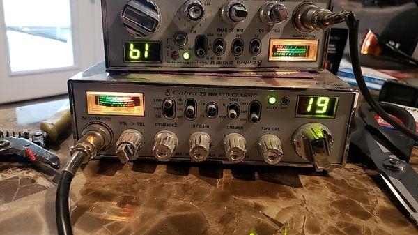 Cobra radios