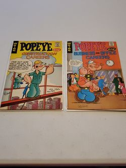 Popeye Career E-5, E-10, King Comics 1970s Promo Comic Book Lot Of 2 for Sale in Fresno,  CA