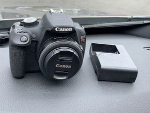 Canon T5 DSLR with 24mm 2.8 STM for Sale in Portland, OR