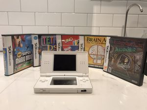 Nintendo DS and 5 games for Sale in Portland, OR