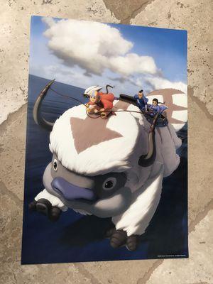 "AVATAR AIRBENDER ""TEAM AVATAR"" poster 13x19 for Sale in San Diego, CA"