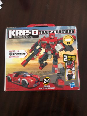 Kre-O Transformer for Sale in Campbell, CA