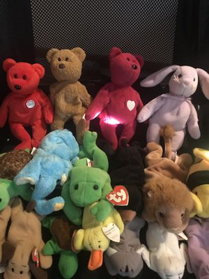 Lot of Collectable Beanie Babies for Sale in Elk Grove Village, IL