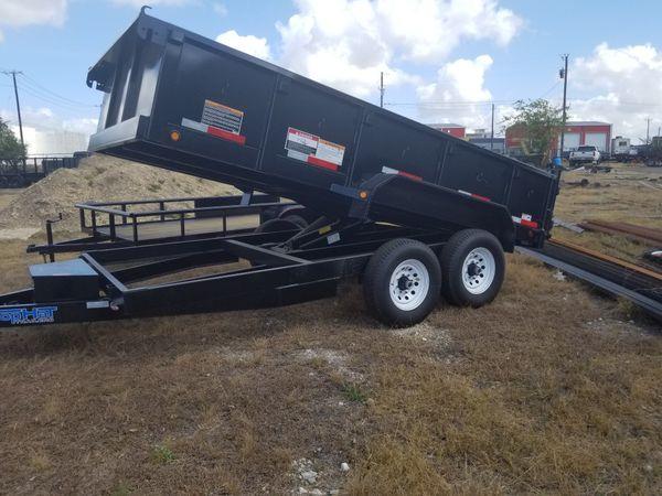 7'x14' dump trailer