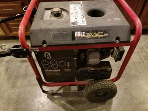 Porter Cable 5500 watt generator for Sale in Missoula, MT