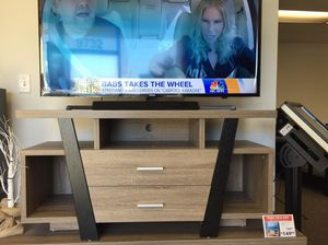 Daisy Tv Stand, Black & Dark Taupe , SKU # 151309 for Sale in Downey, CA