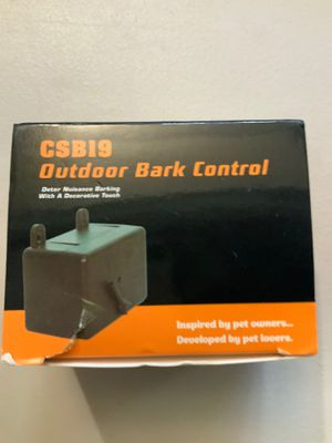 Outdoor Bark Control for Sale in Walnut, CA