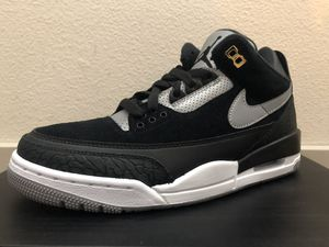Jordan 3 Tinker Black - Size 8 & 9.5 - Brand New DS for Sale in Mountain View, CA