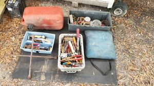 Hand tools gas can boat cushion nails for Sale in Spring Hill, FL