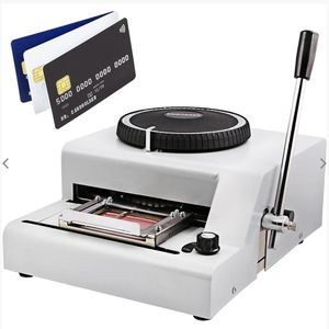 72 Character Embossing Embosser Pvc Card Vip Club Card Protable for Sale in Los Angeles, CA