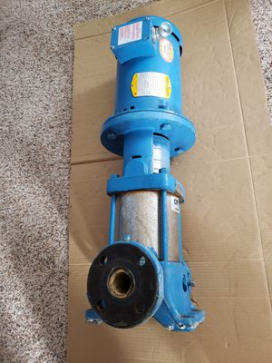 Industrial booster pump 3hp for Sale in Mason City, IA