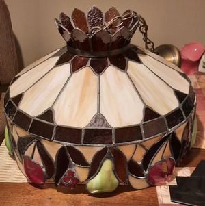 Vintage Slag Glass Pendant Light for Sale in Laytonsville, MD