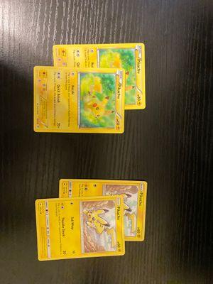 4 pikachus pokemon for Sale in Mount Vernon, WA