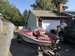 1990 sprint 275FS fish and ski for Sale in Tacoma, WA