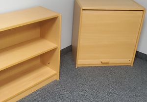 Book shelf and roll top cabinet for Sale in Minneapolis, MN